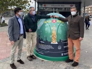 Residuos y reciclaje. Madrid arranca '1 kilo de vidrio por 1 kilo de comida'