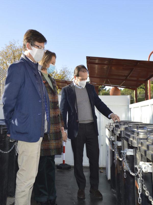Residuos y reciclaje. Los puntos limpios fijos de Madrid mejoran 'notablemente'