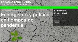 """Juantxo López-Uralde:""""Ecologismo y política en tiempos de pandemia"""