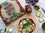 Receta Ecológica recomendada por ECOticias.com: BIOCOP, te propone una exquisita pizza con calabacín, berenjena y rúcula