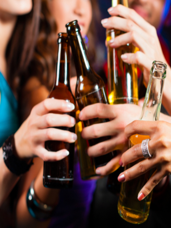 ¿Alcohol entre adolescentes?