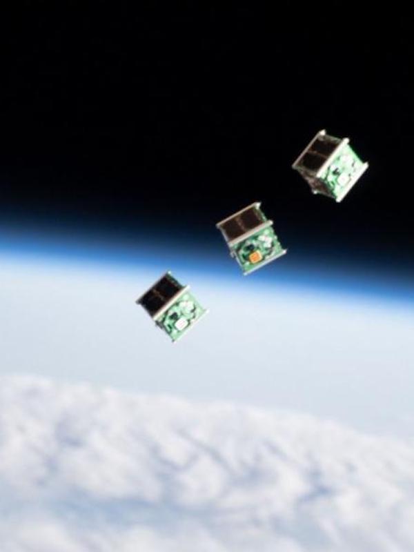 Residuos. ¿Satélites de madera para reducir la basura espacial?