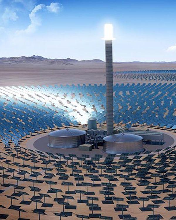 Las Centrales Termosolares en la Planificación Energética de España