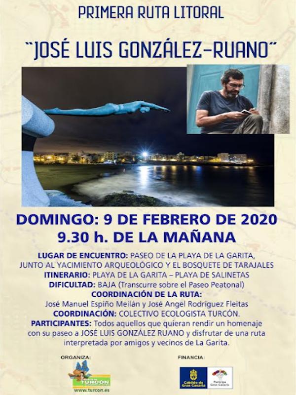 Primera ruta litoral 'José Luis Gozález Ruano'