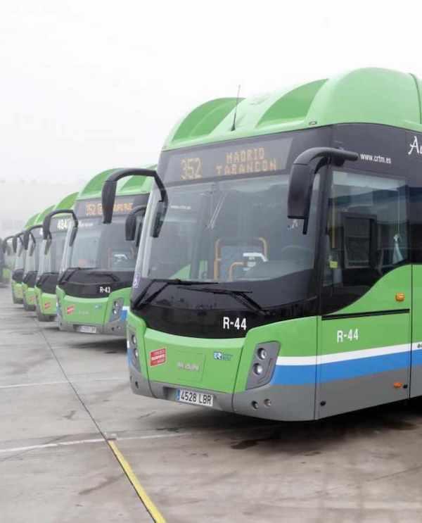 La Comunidad de Madrid incorpora nuevos vehículos sostenibles propulsados por gas natural comprimido