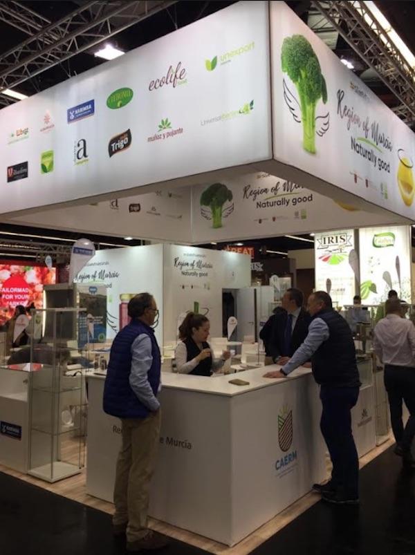 La Región de Murcia con sus excelentes productos en la feria líder mundial de productos orgánicos, Biofach 2020