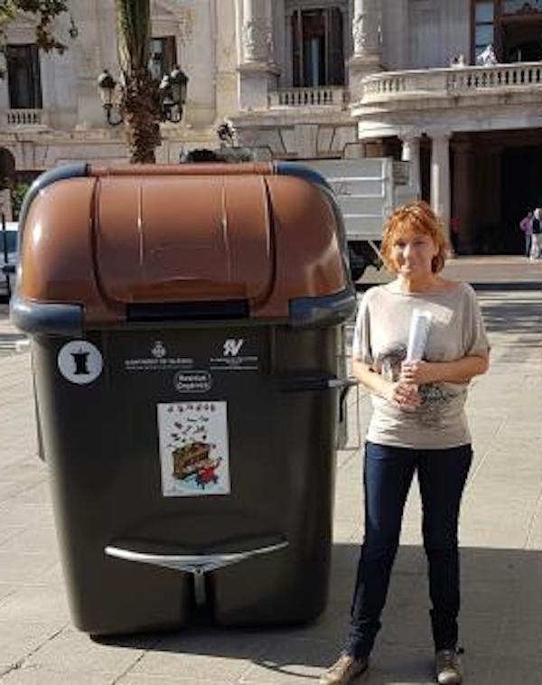 La recogida de residuos orgánicos un 'tremendo éxito' en Valencia