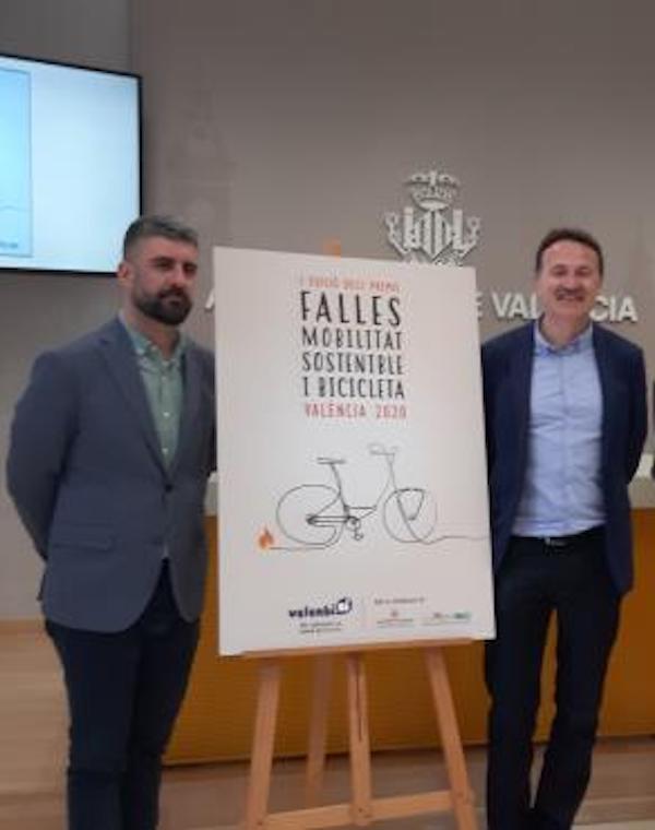 Valencia. 'Premios Fallas 2020. Movilidad Sostenible y Bicicleta'