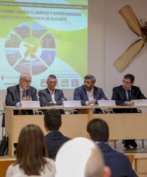 Alicante crea empleos vinculados a los sectores verdes
