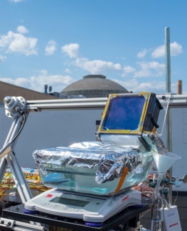 Con tecnología verde una sencilla desalinizadora solar pasiva pulveriza récord de eficiencia