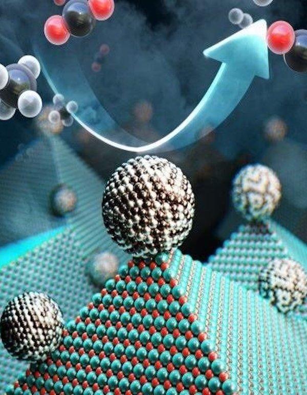 Tecnología verde para reciclar en masa gases invernadero en combustible y gas hidrógeno