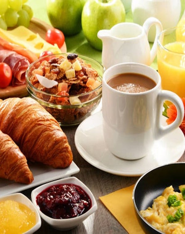 Desayuna como un rico y cena como un podre