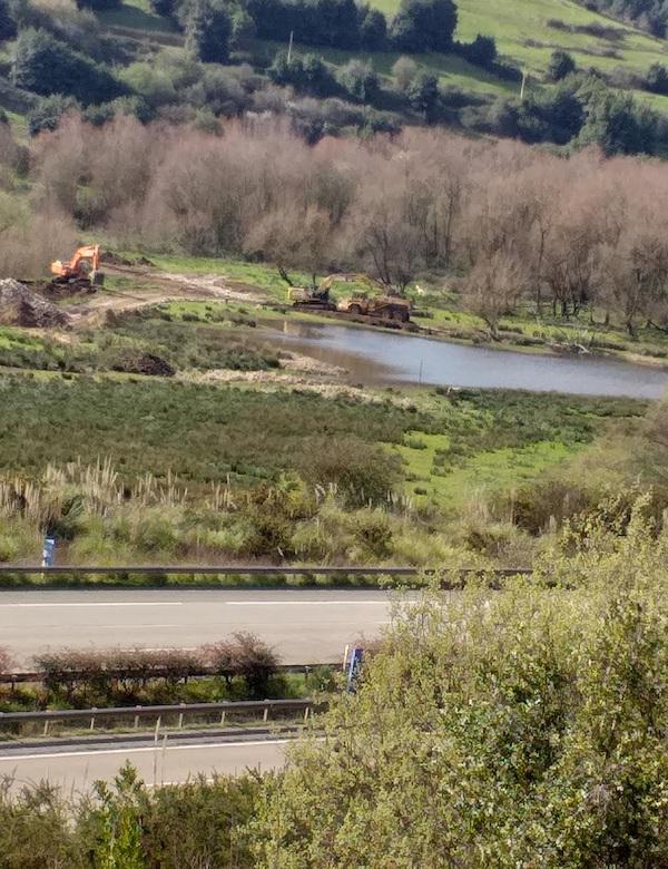 Asturias. STOP a las obras de vaciado del embalse de San Andrés en Gijón