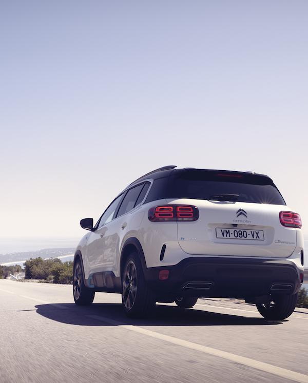 Suv c5 aircross hybrid: comienza la ofensiva eléctrica de Citroën