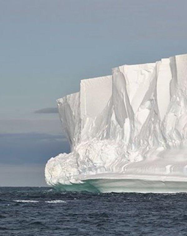Los muros de hielo antárticos, protectores críticos del clima