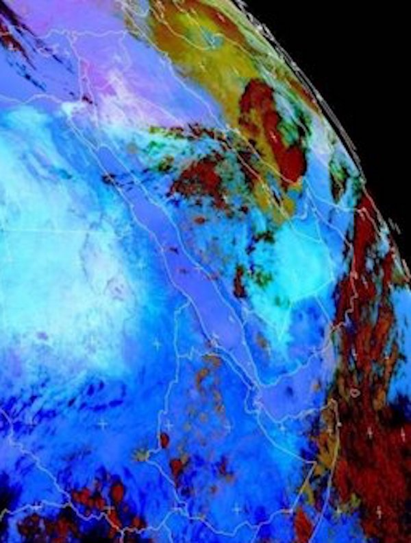 El polvo de Oriente Medio enfría el Mar Rojo
