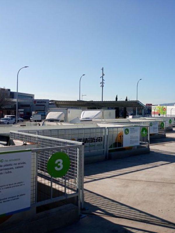 Baleares. El punto verde de Inca se adapta a la Ley de residuos
