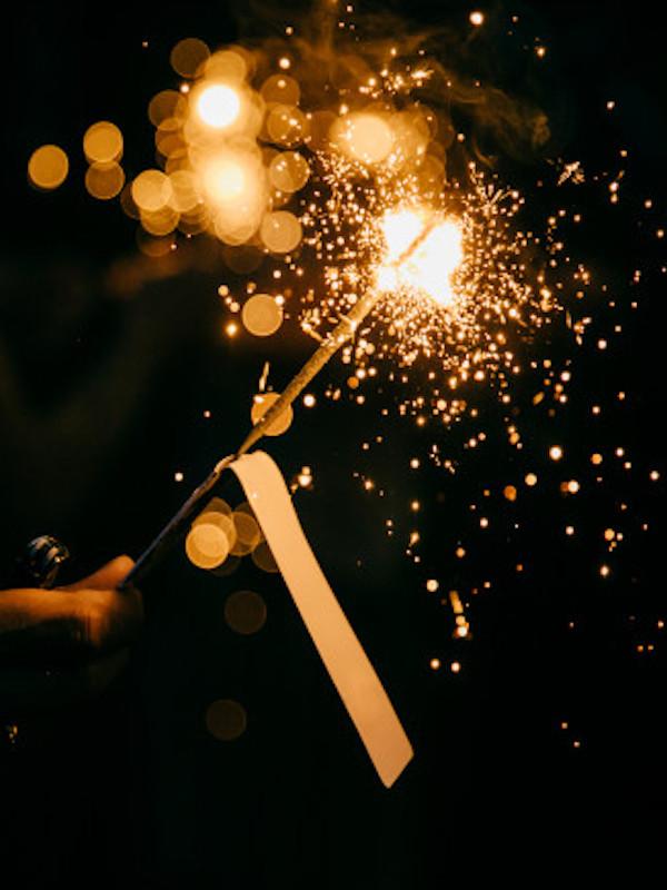 Ojito a la exposición de fuegos artificiales