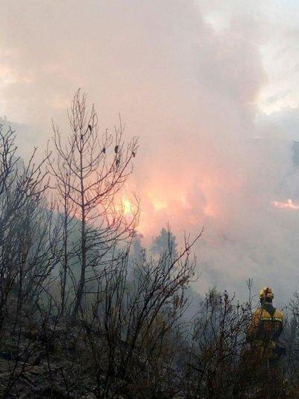 Comunidad Valenciana: campaña 'Stop al foc'