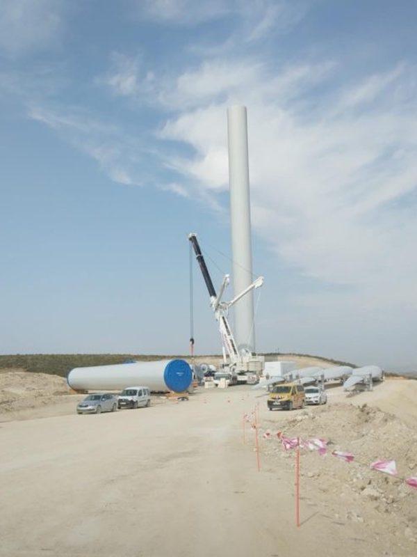 Endesa comienza la construcción de un parque eólico de 24 mw en Borja y Fréscano, en la provincia de Zaragoza