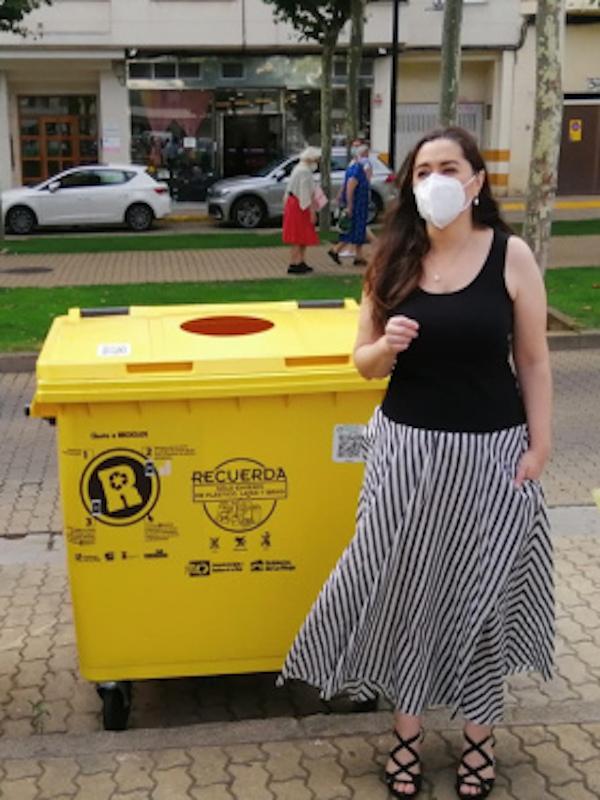 'RECICLOS', el primer sistema de reciclaje que aúna tecnología y recompensa llega a Calahorra