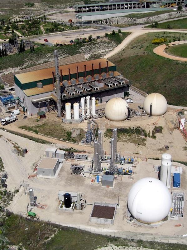 Un proyecto municipal busca reducir el CO2 generado por Valdemingómez al transformar el biogás en biometano