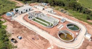 Fin de la nueva Estación Depuradora de Aguas Residuales de Addaia, en Es Mercadall (Menorca)