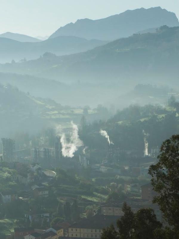 Asturias. Otro día más disparado el cancerígeno benceno en Gijón