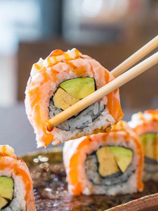 Ojito con el 'sushi'