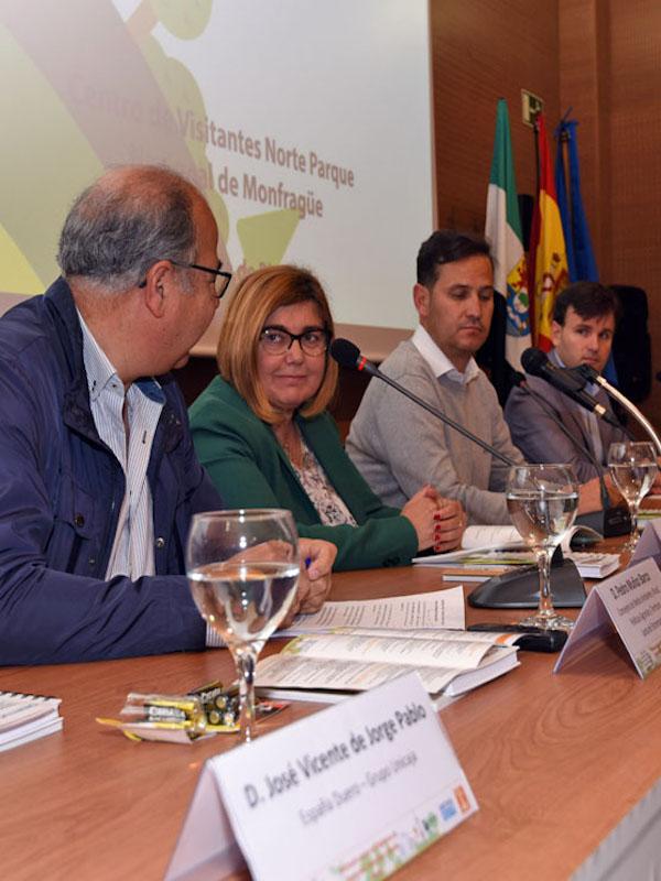 La Diputación de Cáceres con el 'medio ambiente'