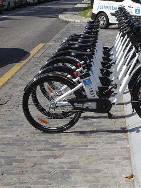 Madrid despliega de casi 5.000 bicicletas eléctricas