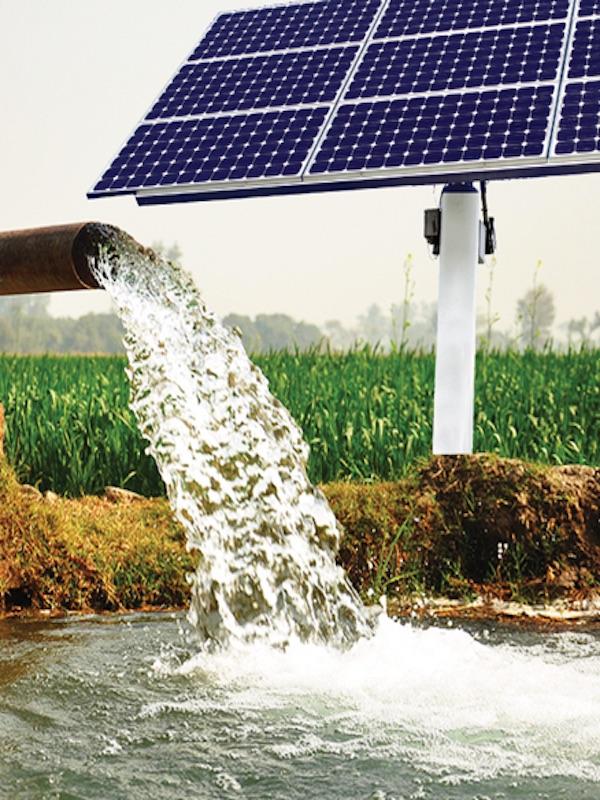 ¿Bombas solares que extraen agua potable del suelo?