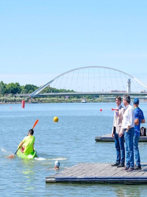 Sevilla clama por revitalizar el río con un corredor verde, playa fluvial, y piscinas