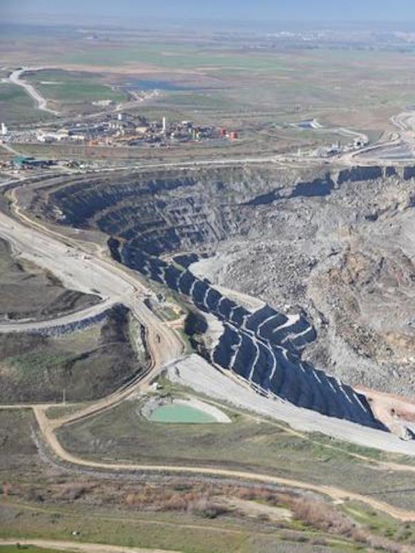 La mina Cobre las Cruces agota los pozos de abastecimiento de Burguillos