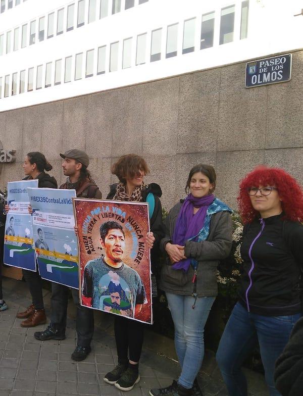 Exigen a Enagás su retirada del megaproyecto gasístico de Morelos (México)