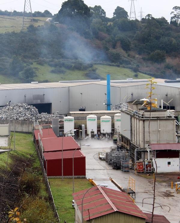 Exigimos medidas anticontaminación en los tramites ambientales de Alusigma en Gijón