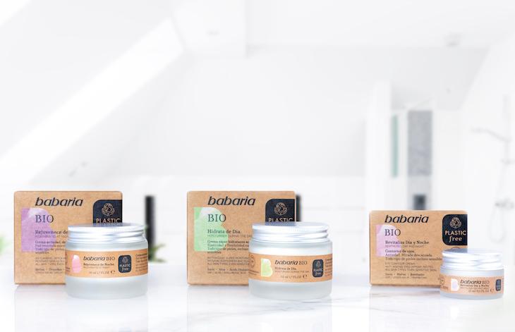 Babaria, marca pionera en desarrollar una línea cosmética 100% Plastic Free en gran consumo