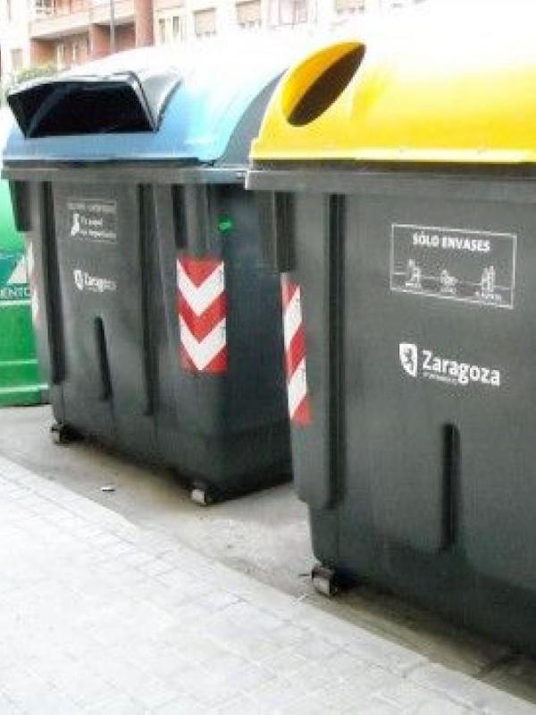 Zaragoza asesora para tratar los residuos domésticos en hogares con infectados