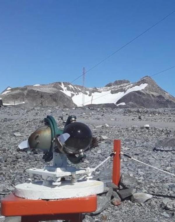 Temperaturas récord en la Antártida