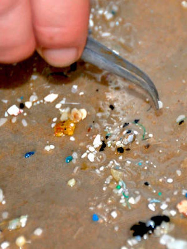 Buscando soluciones para los microplásticos que acaban en las aguas residuales