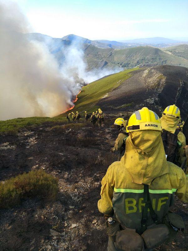Cantabria calcinada por 120 incendios provocados durante el estado de alarma