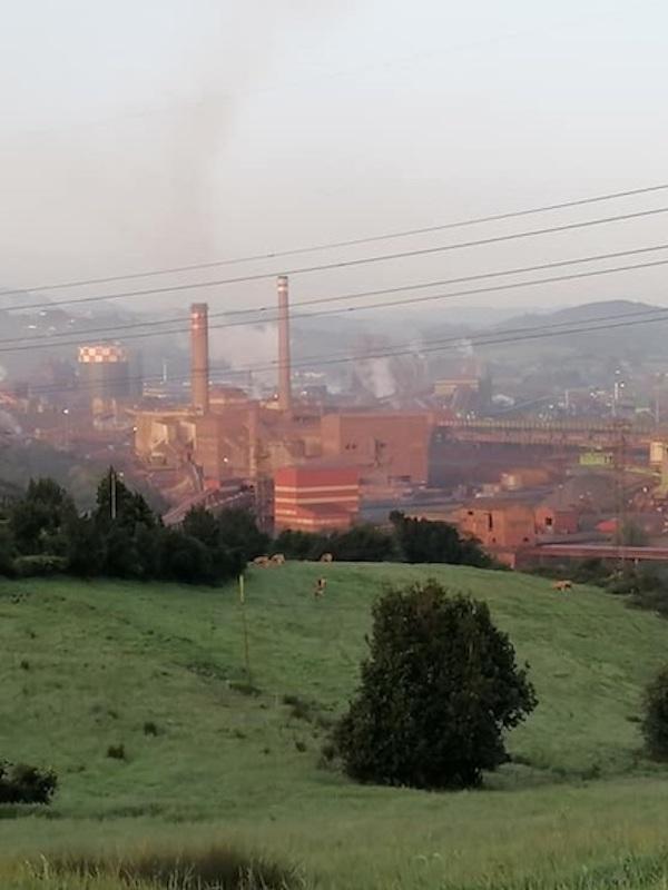Sigue disparada la contaminación en la comarca de Gijón