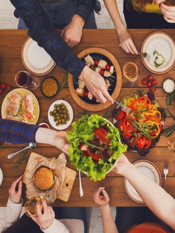 Fiestas y reuniones 'veganas'