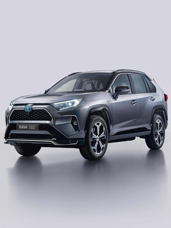 Toyota todocamino híbrido Highlander