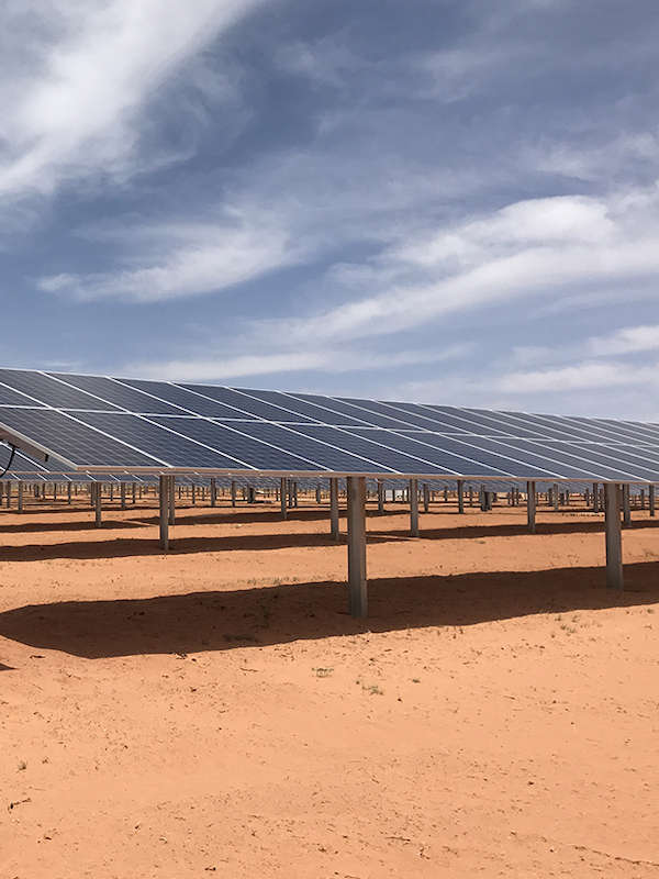 Soltec suministra su seguidor SF7 Bifacial en una planta de 101 MW en Antofagasta, Chile