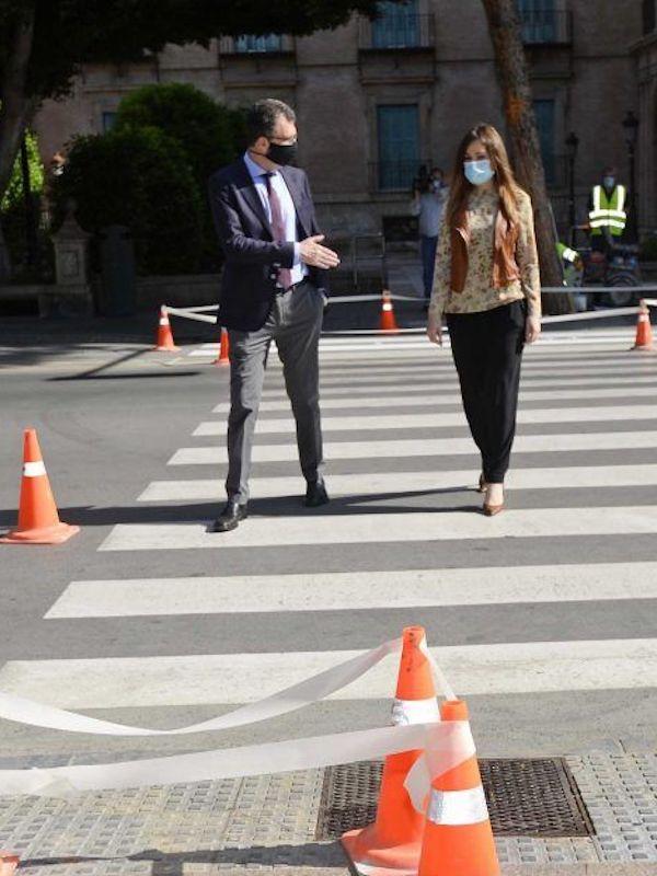 Murcia mejora la movilidad de peatones