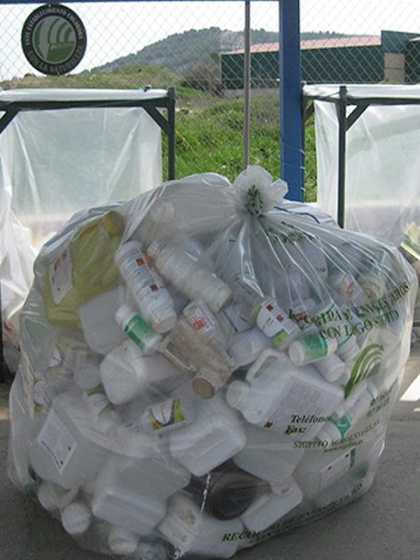 SIGFITO líder en reciclaje de envases agrarios