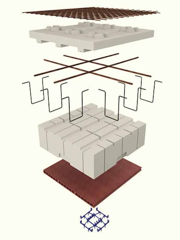 Knauf Industries lanza Fractalys® un forjado reticular para construir edificios sostenibles