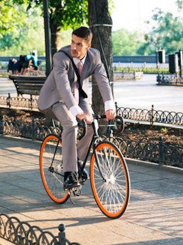 Ve caminando o en bicicleta al trabajo