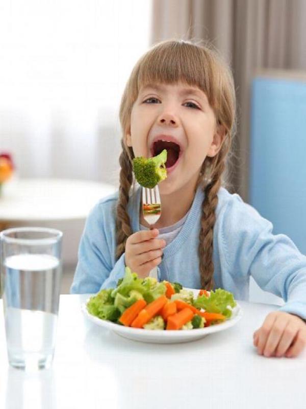 Alimentación vegana para tus hijos